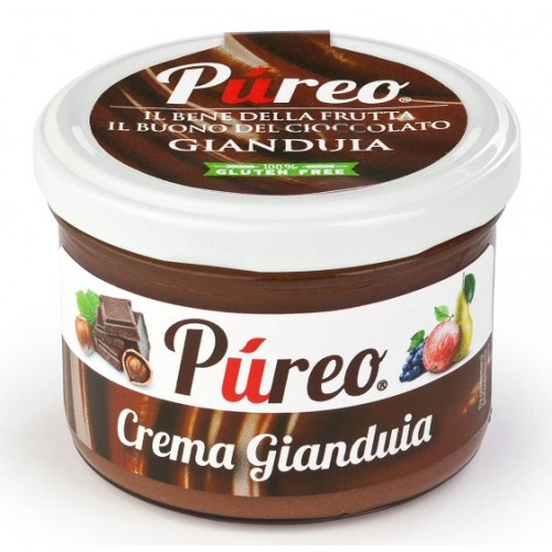 GIANDUIA SPREADABLE CREAM WITH FRUIT 220 GR GLUTEN FREE
