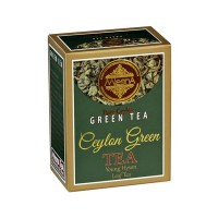 TEA CEYLON GREEN IN LEAF OF YOUNG HYSON FUSED