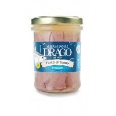 TUNA FILLETS WITH NATURAL DRAGON 200 GR