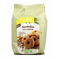 BISCUITS BIO CIAMBELLINE CECI AND CACAO 200 GR