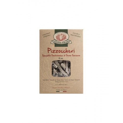 PASTA PIZZOCCHERI WITH BUCKWHEAT 500 GR