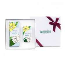 CONFEZIONE REGALO NARCISO E GARDENIA (ROLL ON E CREMA CORPO)