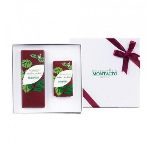 CONFEZIONE REGALO SANDALO E PATCHOULY (ROLL ON E CREMA CORPO)