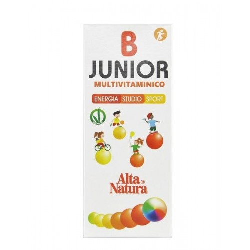 B-JUNIOR MULTIVITAMINICO 100 ML FAVORISCE CRESCITA DEL BAMBINO