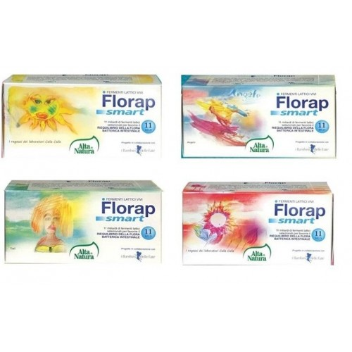 FLORAP SMART FERMENT LACTIVES WITH 10 BOTTLES OF 10 ML SUPPORT CHILDREN OF THE FAIRIES AND HOUSE OF TOTI